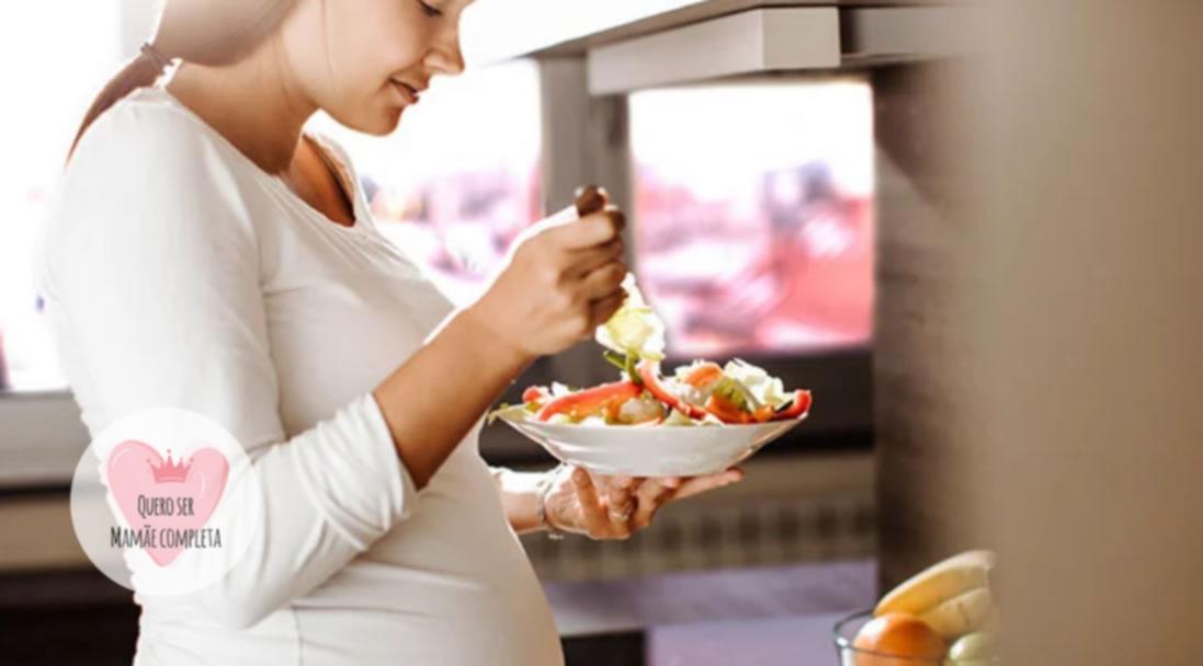 alimentacao na gravidez